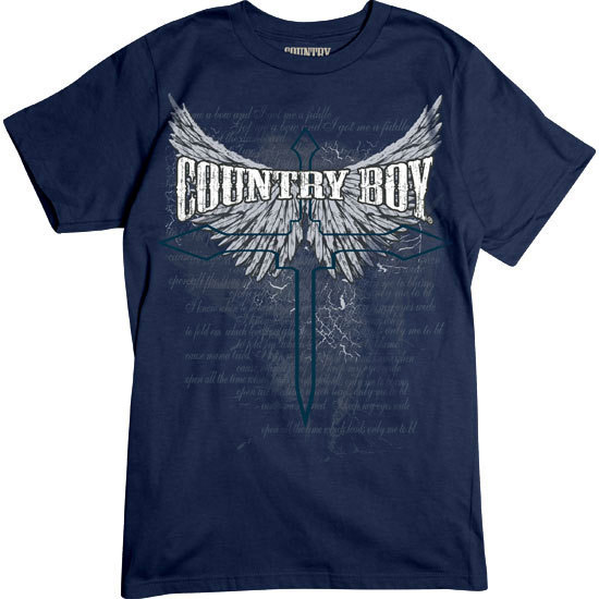 Country Boy® Cross Wings - Short Sleeve Tee
