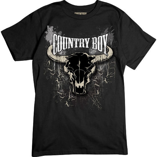 Country Boy® Steer Skull - Short Sleeve Tee