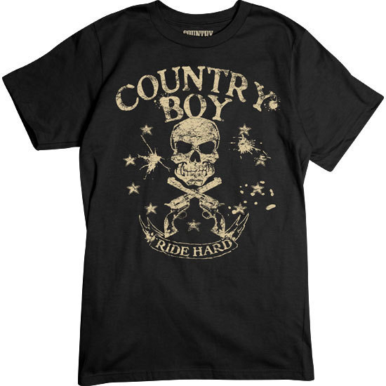 Country Boy® Ride Hard - Short Sleeve Tee