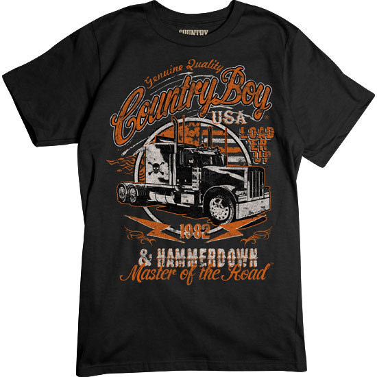 Country Boy® Master of the Road - Short Sleeve Tee