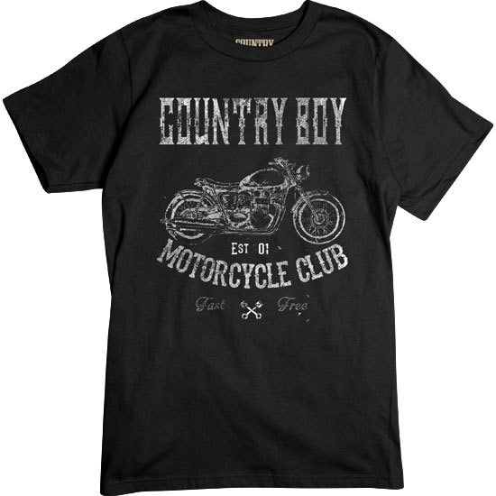 Country Boy® Country Boy® Motorcycle Club - Short Sleeve Tee