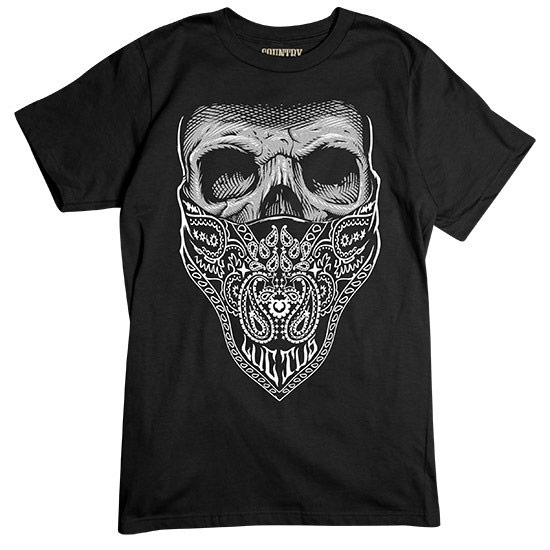 Country Boy® Bandana Skull - Short Sleeve Tee