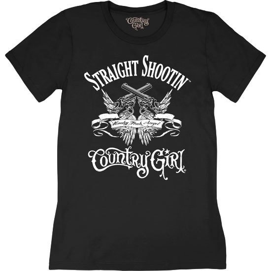 Country Girl® Straight Shootin' - Short Sleeve Tee