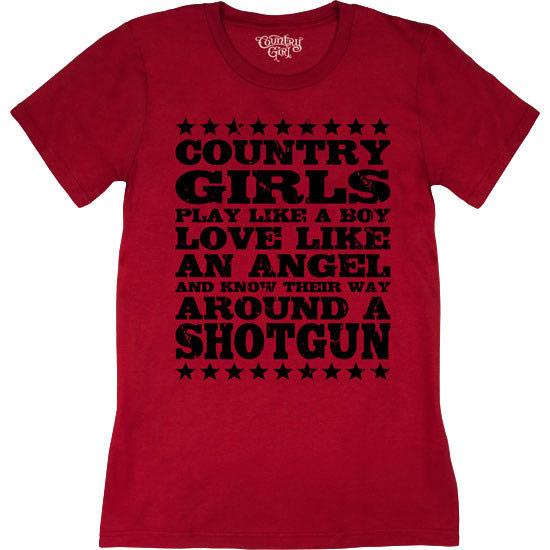 Country Girl® Shotgun - Short Sleeve Tee