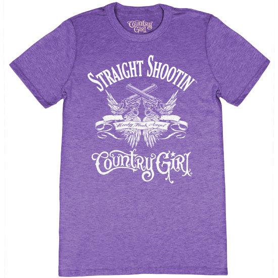 Country Girl® Straight Shootin' - Short Sleeve Tee