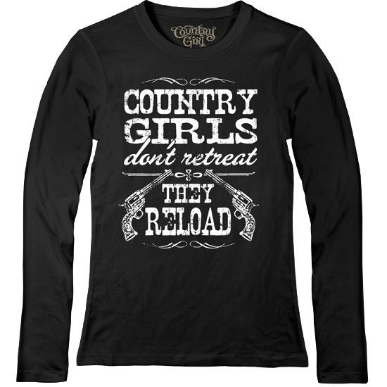 Country Girl® Country Girls Reload - Fitted Long Sleeve Tee