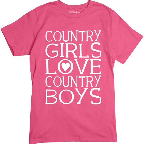 Country Girl® Country Girls Heart Country Boys - Short Sleeve Tee
