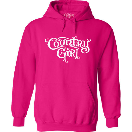 Country Girl® CG Logo - Relaxed Pullover Hoodie