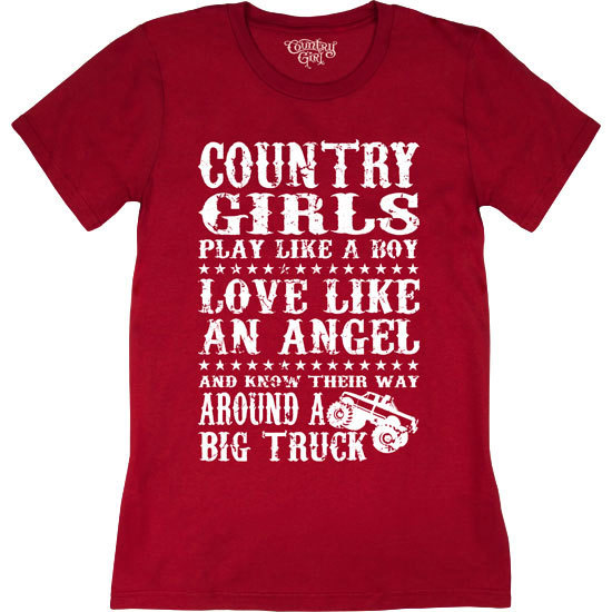 Country Girl® Big Truck - Short Sleeve Tee