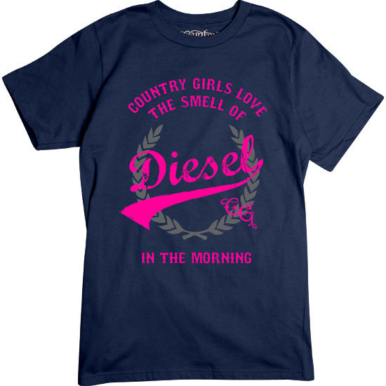 Country Girl® Smell of Diesel - Short Sleeve Tee