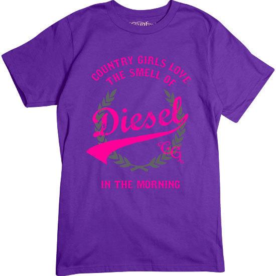 Country Girl® Smell of Diesel - Short Sleeve Tee