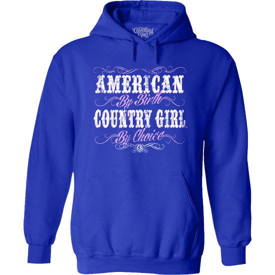 Country Girl® American by Birth - Relaxed Pullover Hoodie