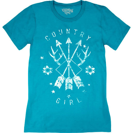 Country Girl® CG Arrows - Short Sleeve Tee