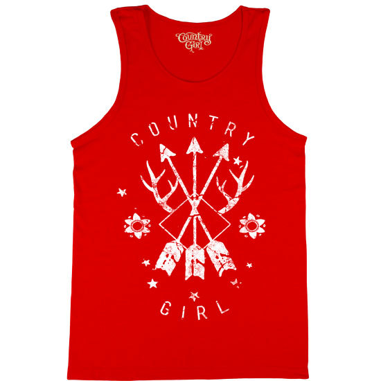 Country Girl® Arrows - Tank Top