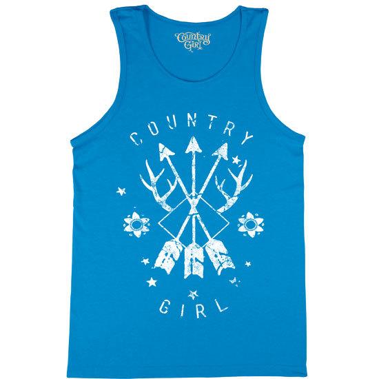 Country Girl® Arrows - Tank Top