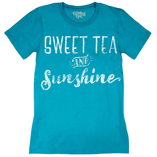 Country Girl® Sweet Tea & Sunshine - Short Sleeve Tee