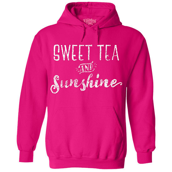Country Girl® Sweet Tea & Sunshine - Relaxed Pullover Hoodie