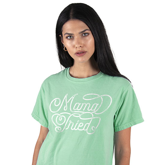 Country Girl® Comfort Colors Mama Tried - Short Sleeve Tee