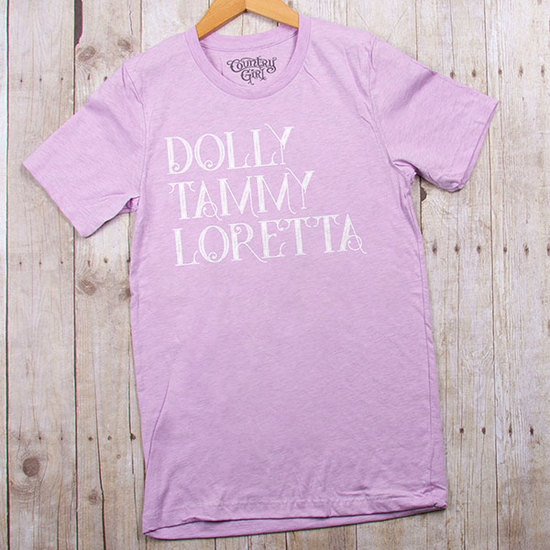 Country Girl® Dolly Tammy Loretta - Fitted Jersey Tee