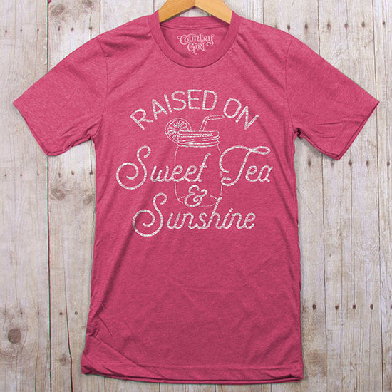 Country Girl® Sweet Tea & Sunshine - Fitted Jersey Tee
