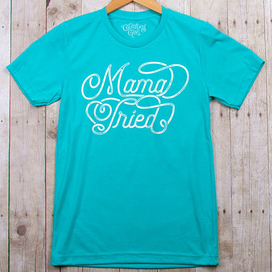 Country Girl® Mama Tried - Fitted Jersey Tee