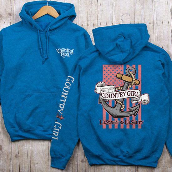 Country Girl® Sweet N Salty - Relaxed Pullover Hoodie
