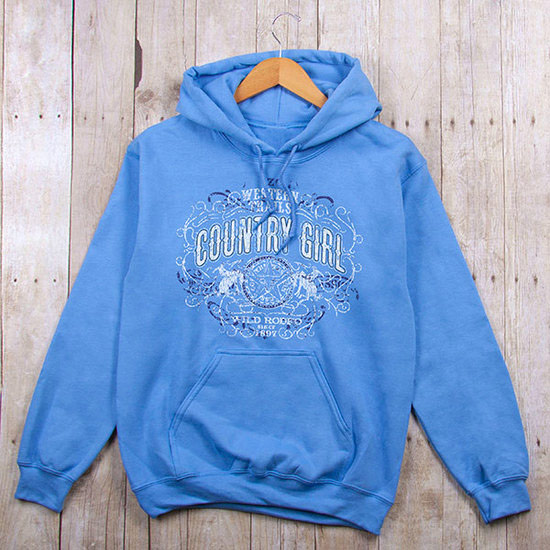 Country Girl® Western Trails - Relaxed Pullover Hoodie