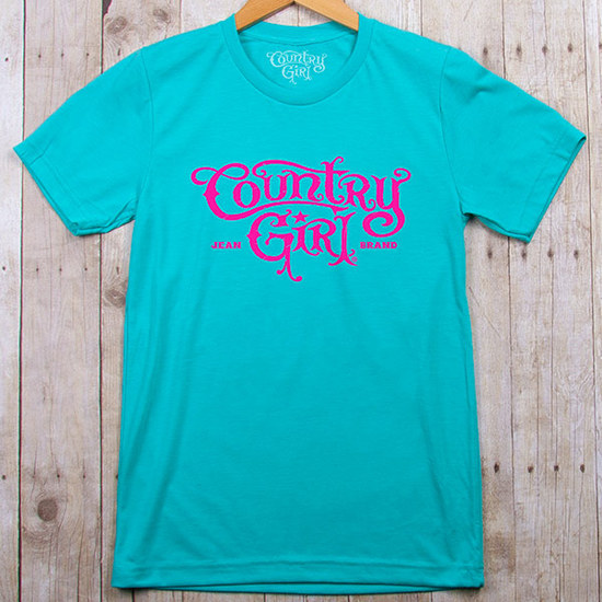 Country Girl® Logo - Fitted Jersey Tee
