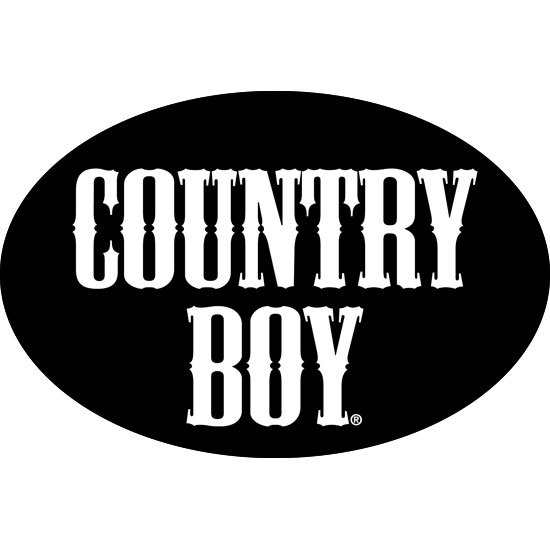 "Country Boy® Logo - 6"" x 4"" Oval Bumper Sticker"