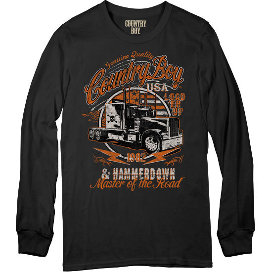 Country Boy® Master of the Road - Long Sleeve Tee