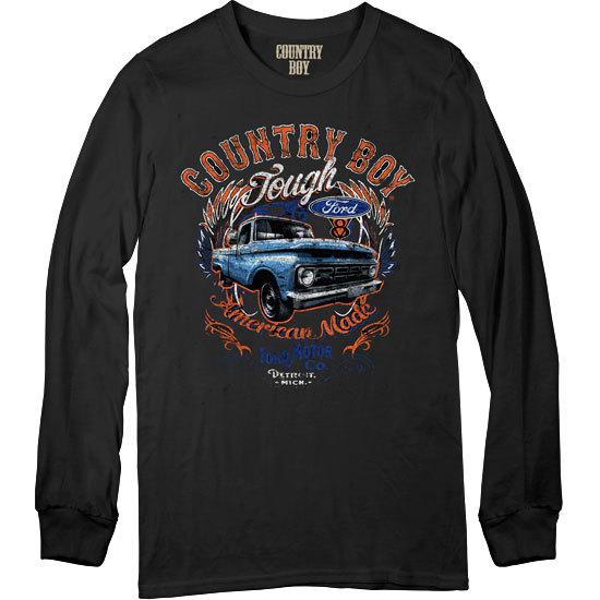 Country Boy® Ford Tough - Long Sleeve Tee