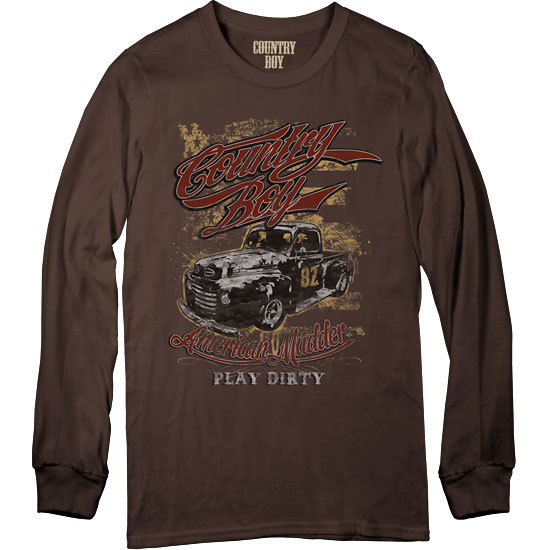 Country Boy® American Mudder - Long Sleeve Tee