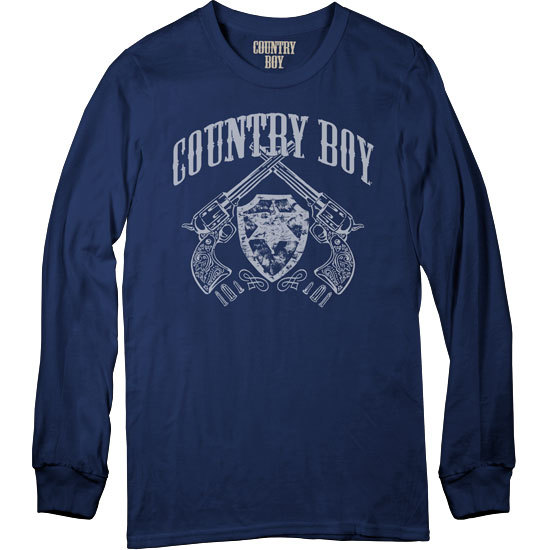 Country Boy® Pistols - Long Sleeve Tee