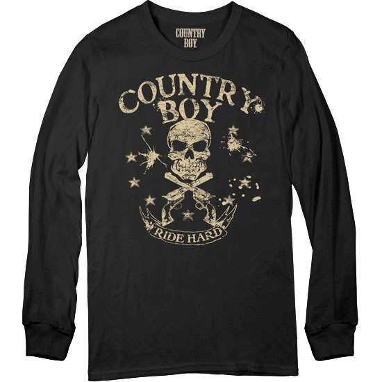 Country Boy® Ride Hard - Long Sleeve Tee