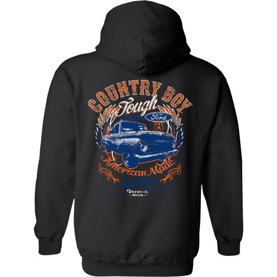 Country Boy® Ford Tough - Relaxed Pullover Hoodie