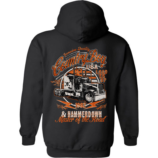 Country Boy® Master of the Road - Relaxed Pullover Hoodie