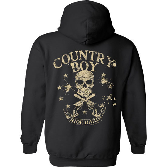 Country Boy® Ride Hard - Relaxed Pullover Hoodie