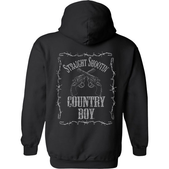 Country Boy® Straight Shootin' - Relaxed Pullover Hoodie