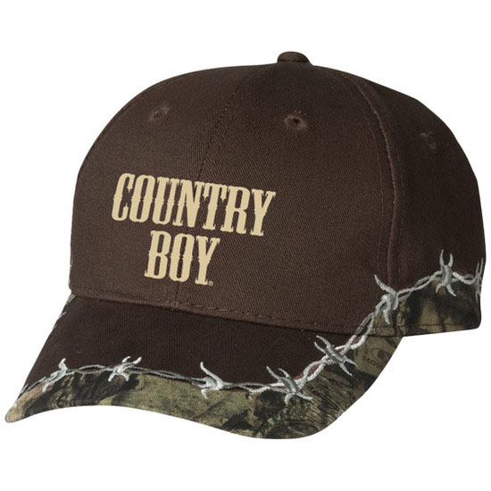 Country Boy® Logo Mossy Oak® - Barbed Wire Cap
