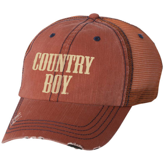 Country Boy® Logo - Herringbone Trucker Hat