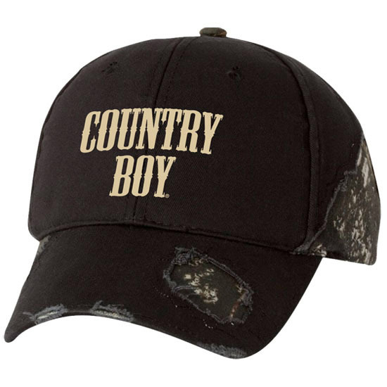 Country Boy® Logo Mossy Oak® - Frayed Cap