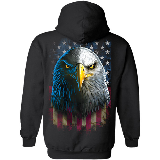 Country Boy® Eagle Stare - Relaxed Pullover Hoodie