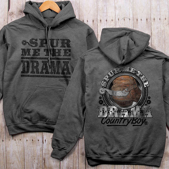 Country Boy® Spur Me The Drama - Relaxed Pullover Hoodie