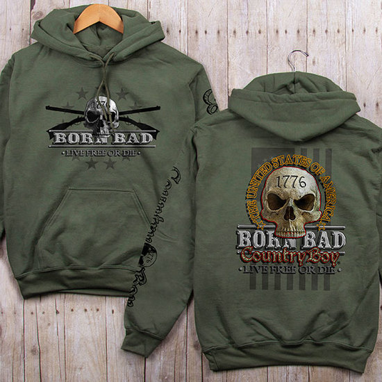 Country Boy® CB Born Bad - Relaxed Pullover Hoodie