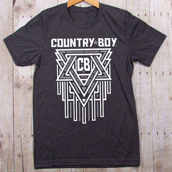 Country Boy® CB Geometric - Jersey Tee