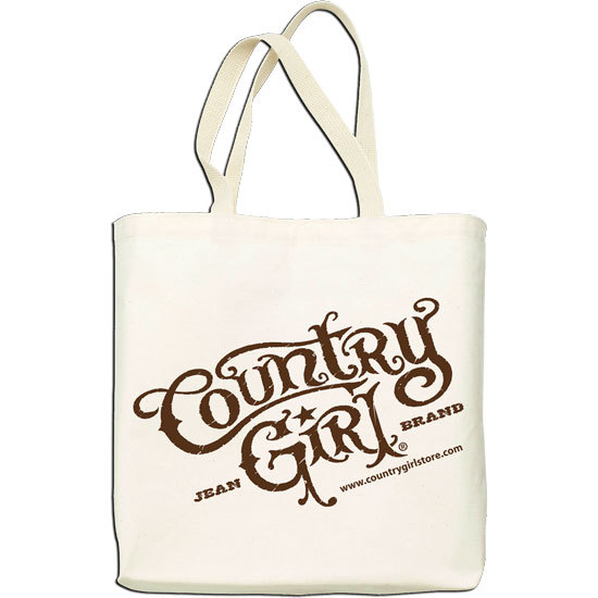 Country Girl® Logo - Lightweight Tote Bag