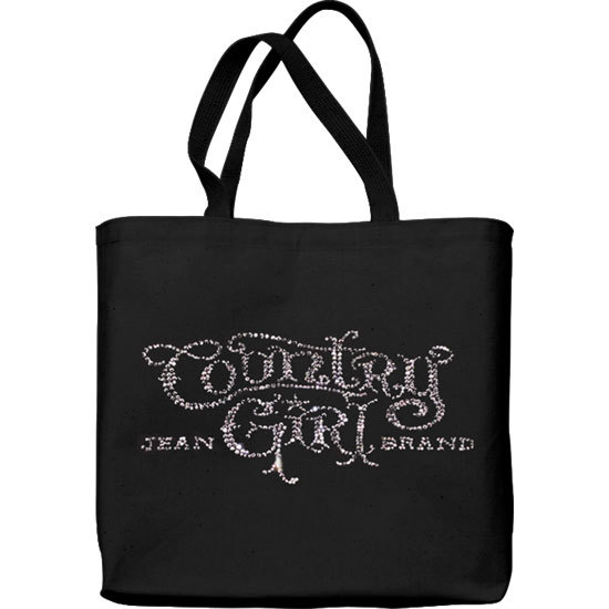 Country Girl® Rhinestones Logo - Lightweight Tote Bag