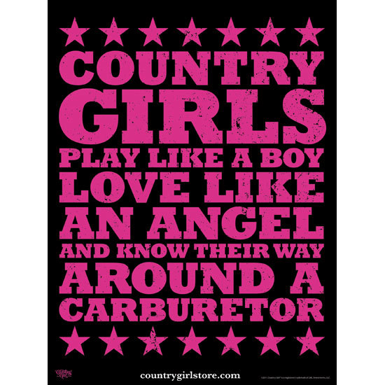 "Country Girl® Carburetor - 18"" x 24"" Poster"