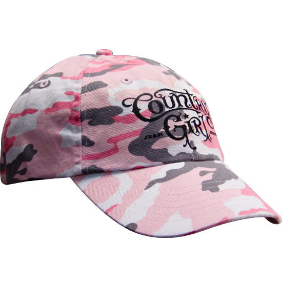 Country Girl® Pink - Camo Cap