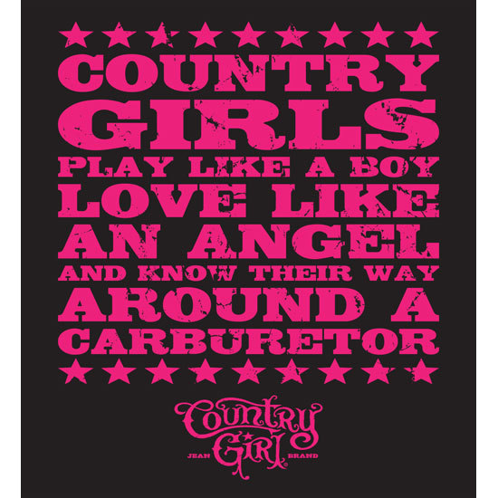 "Country Girl® Carburetor - 5"" x 5.5"" Sticker"